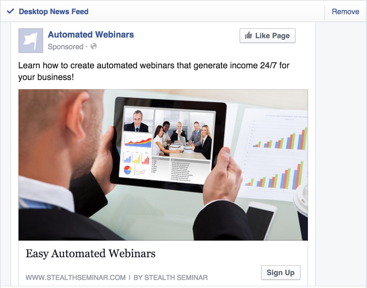 How to Boost Your Webinar Registrations with Facebook Ads ...
